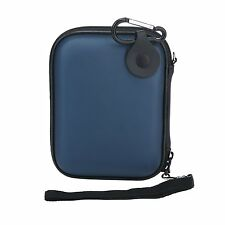 EVA Blue Hard Pouch Carrying Case Bag for 2.5-inch Portable External Hard Drive