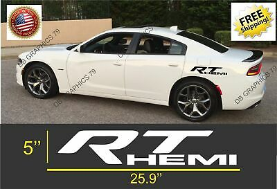 Dodge charger fender hood hash mark stripes vinyl decals Hemi Graphics Mopar Srt