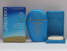 Shiseido UV Protection Liquid Foundation SP60 Medium Beige SPF42 Water Resistant