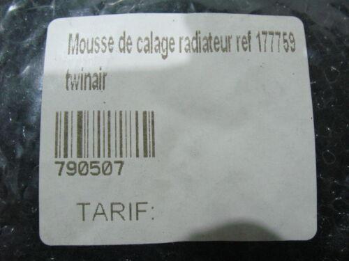 MOUSSE DE CALAGE RADIATEUR RADIATOR FOAM TWIN AIR 360X150X8MM 177759