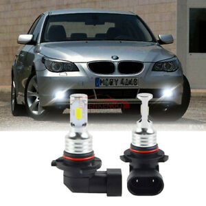 For-BMW-5-Series-E60-HB4-55w-6000k-Bright-White-Xenon-Front-Fog-Light-Bulbs-Pair