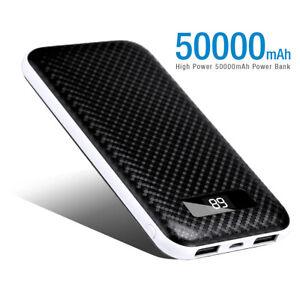 Poweradd-50000mAh-Power-Bank-Dual-USB-Portable-External-Battery-Phone-Charger