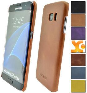Samsung-Galaxy-S7-S7-Edge-Backcover-Tasche-Schutzhuelle-Hard-Case-Leder-Huelle
