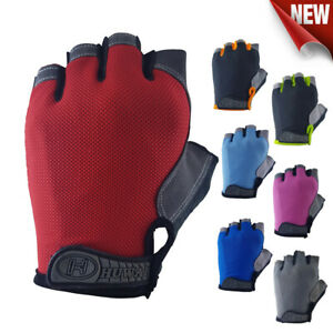 Bike-Gloves-Cycling-Bicycle-Half-Fingers-Gym-Gloves-Anti-Slip-MTB-Hiking