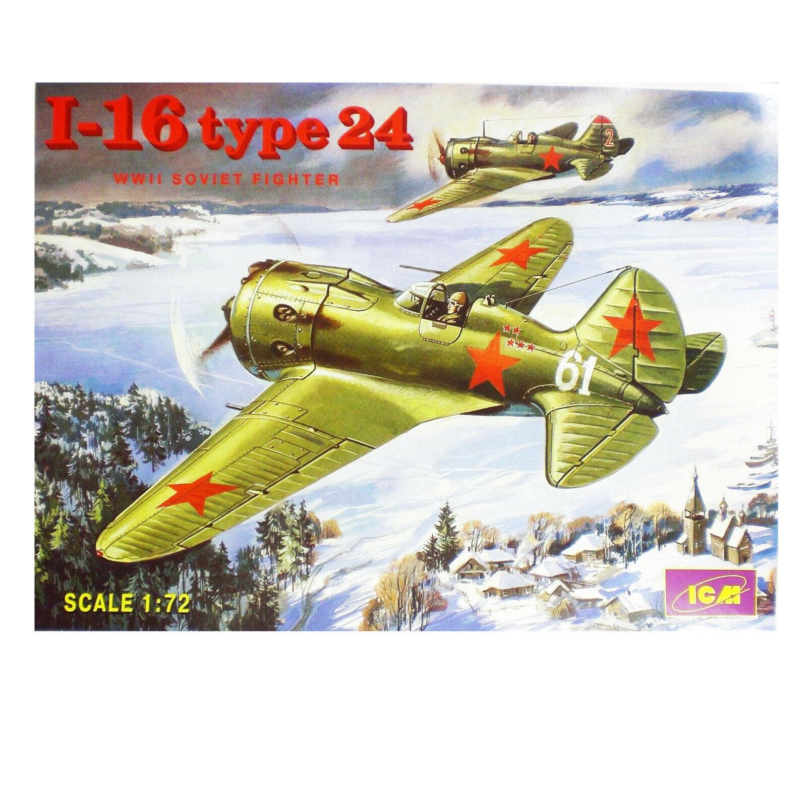 ICM 72073 Polikarpov I-16 Typ 28 in 1:72