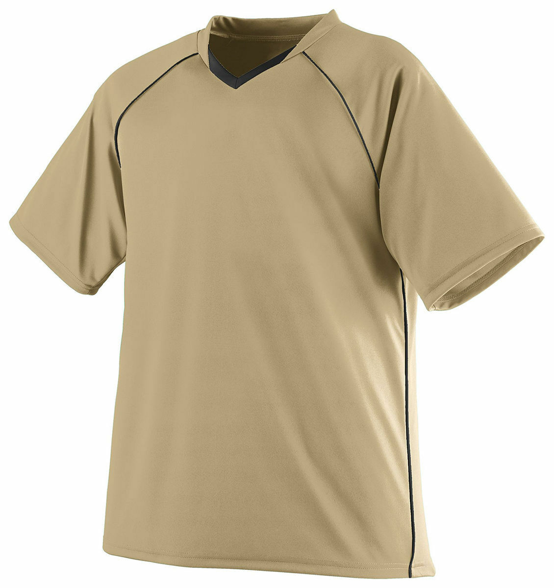 Augusta Sportswear Men's Short Sleeve Tee Polyester Sports Soccer T-Shirt. 214