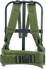 Alice Pack Frame New Black Military With Olive Drab Suspender Straps  Durable New 32c3bb919b1