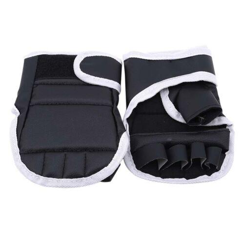 Kid Gloves Half Boxing Finger Sparring Mitts Taekwondo Protector Sandbag Punch G