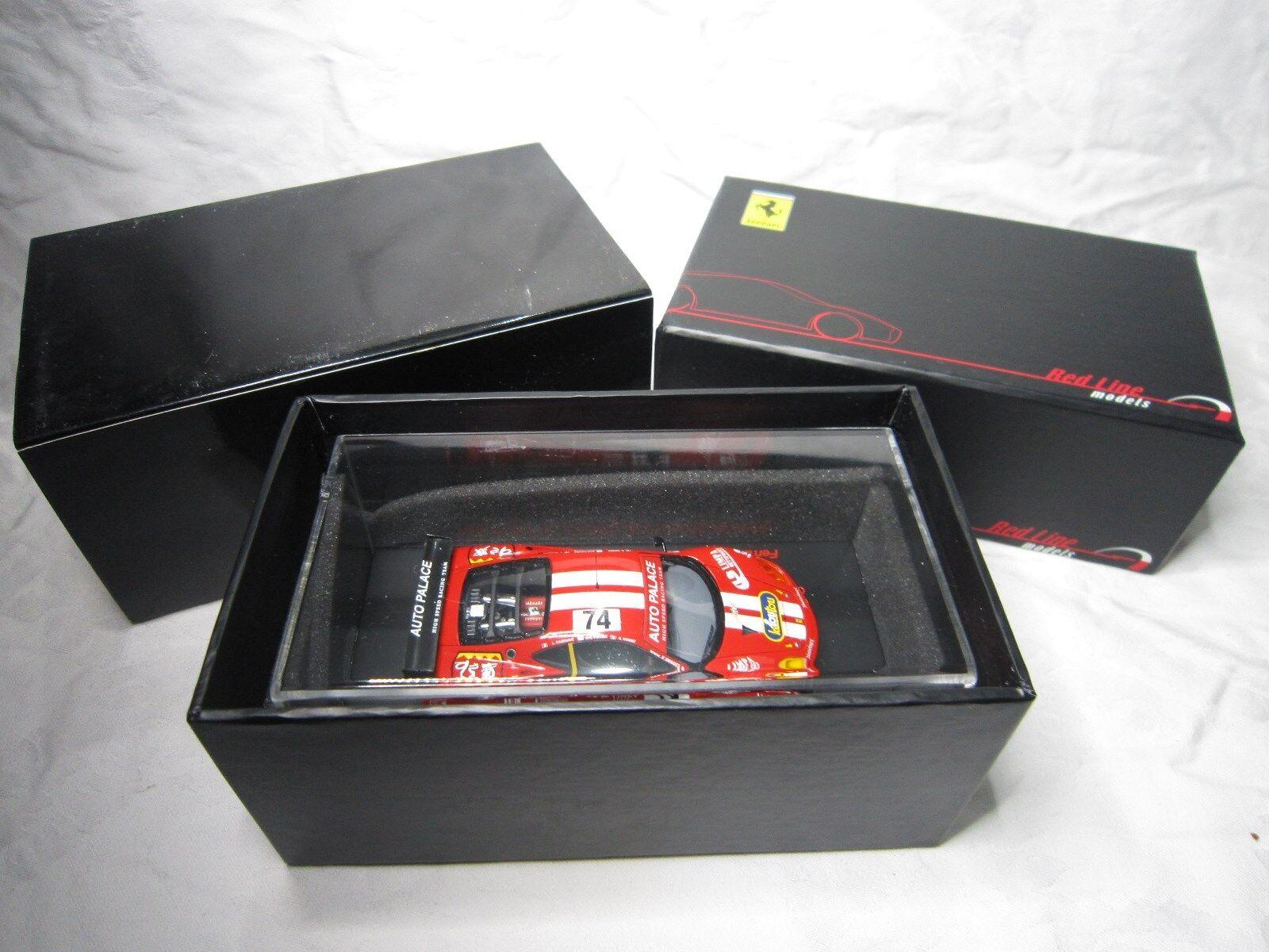 DV7204 RED LINE MODELS 1/43 FERRARI 360 MODENA AUTO PALACE #74 MANS 2002 RL003