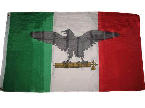 3x5 Italien Italienisch Krieg Facist Ww2 Adler Premium Qualität Flagge 0.9mx5/'