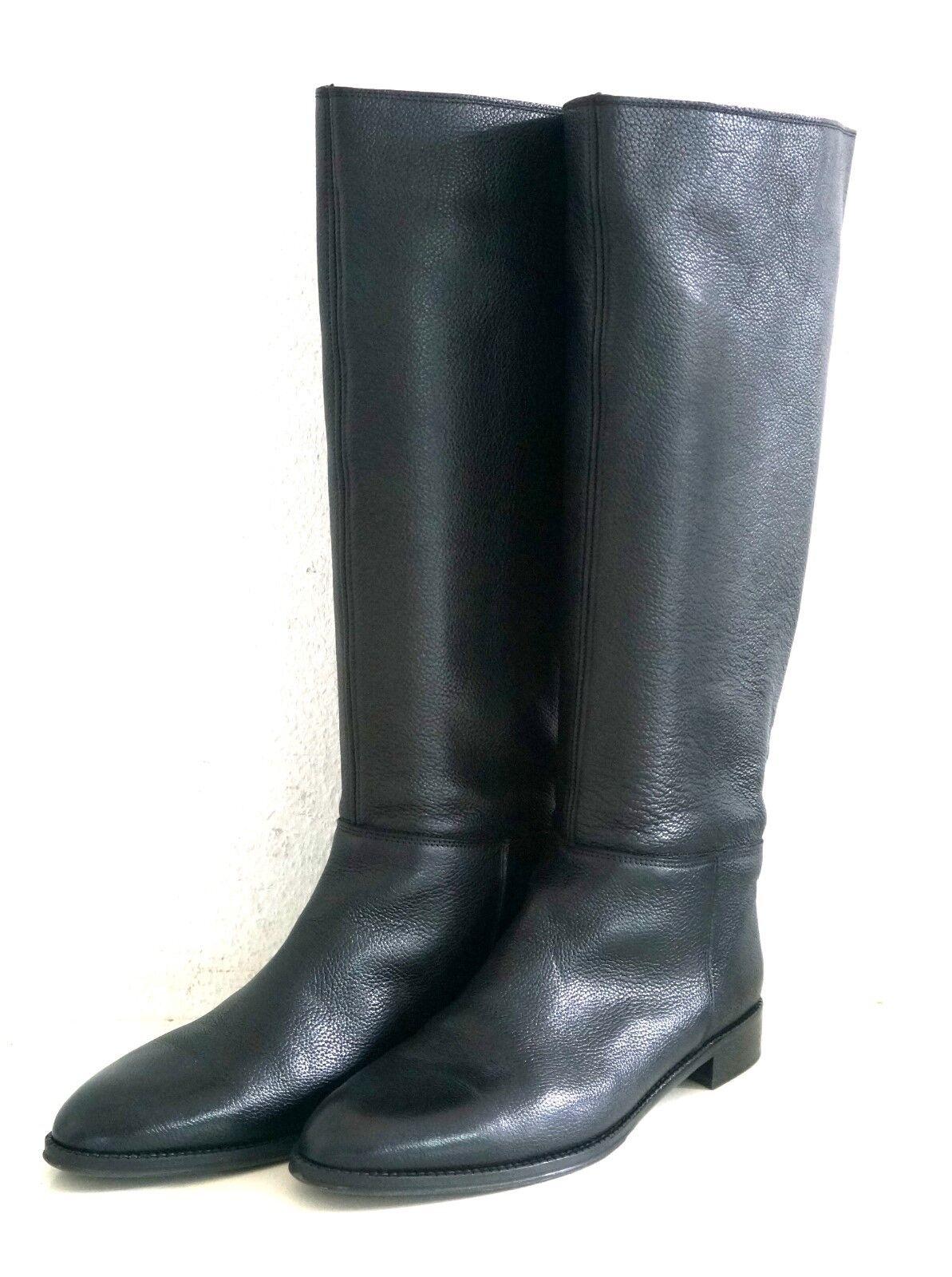 Pertini señora botas negro lleno de cuero nuevo (299. -)
