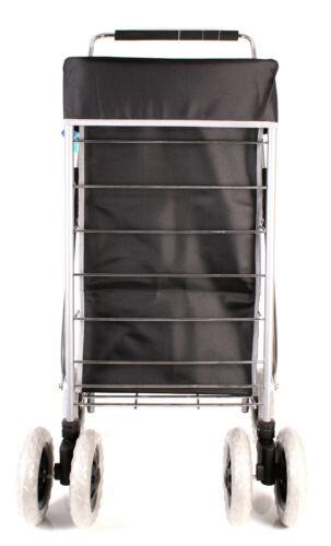 Shopping Trolley 6 roues chariot de courses pliable marché Sac à Linge /& Pièces De Rechange