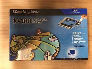 3Com-Megahertz-LAN-CardBus-PC-Card-10-100-3CXFE575CT-NEW