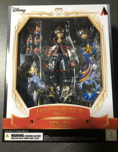 Disney Kingdom Hearts 3 SORA Bring Art vol.2 Action Figure  Square Enix New JP