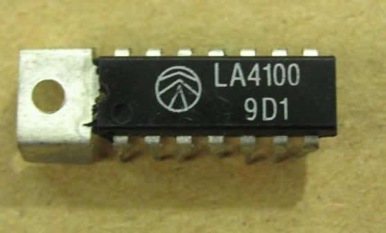LA4112  SANYO ORIGINAL INTEGRATED CIRCUIT DIP-14 W//TAB /'/'UK STOCK/'/' NIKKO