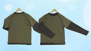 Kindermode, Schuhe & Access. T-shirts, Polos & Hemden Jungen Langarmshirt Langarm Shirt Longsleeve Grün M Nachfrage üBer Dem Angebot
