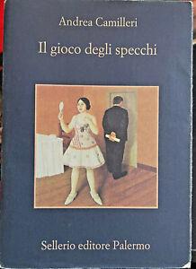 LIBRO • Andrea Camilleri  Il gioco degli specchi Montalbano ITA 2011 Sellerio