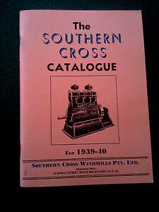 THE-SOUTHERN-CROSS-CATALOGUE-BOOK-1939-40-WINDMILL-AUSTRALIA