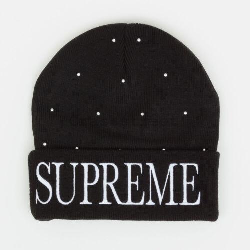 Supreme FW18 Studded Beanie cap camp logo shirt box hat tee knit hooded