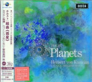 HERBERT-VON-KARAJAN-HOLST-THE-PLANETS-JAPAN-UHQCD-Ltd-Ed-G88