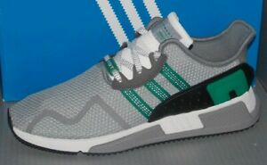 half off 48716 ae519 Details about MENS ADIDAS EQT CUSHION ADV in colors GREY / GREEN / WHITE  SIZE 11.5