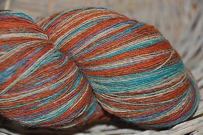 100/% Natur Schurwolle Schafwolle  Strickgarn gefärbt-GRUNDPEIS-20€//Kg