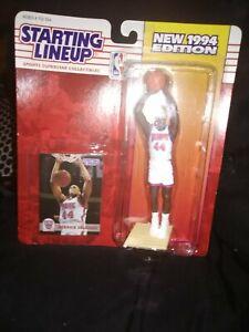 1994 Starting Lineup Derrick Coleman New Jersey Nets Kenner Basketball Figure