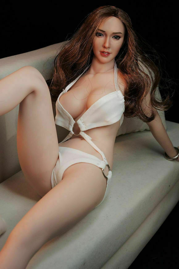 1 6 Phicen TBLeague sexy busty female action figure pale skin (UK stock) S07c
