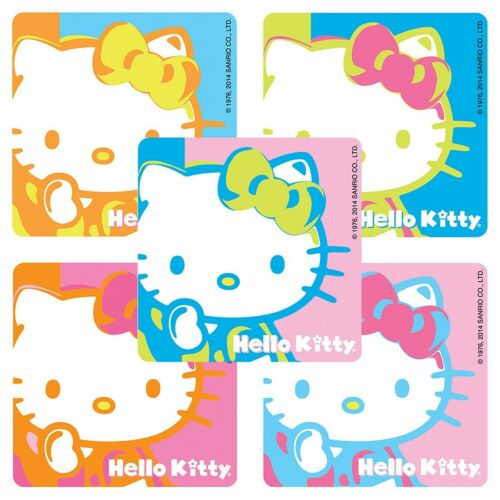 20 Hello Kitty Warhol STICKERS Party Favors Birthday Supplies Treat Loot Bags