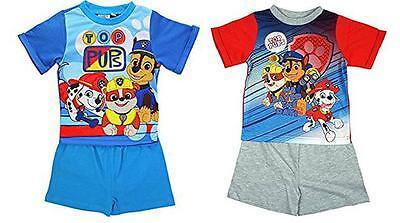 5 Jahre Kinder Paw Patrol Schlafanzüge Shorts Nachtwäsche Pyjama 18 Monate