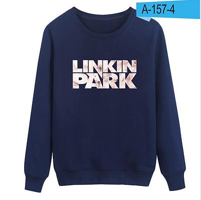 LINKIN PARK Unisex Crewneck Pullover Coat Jacket Sweaters Skateboard Sweatshirt