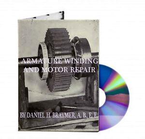 Armature winding and motor repair ebook