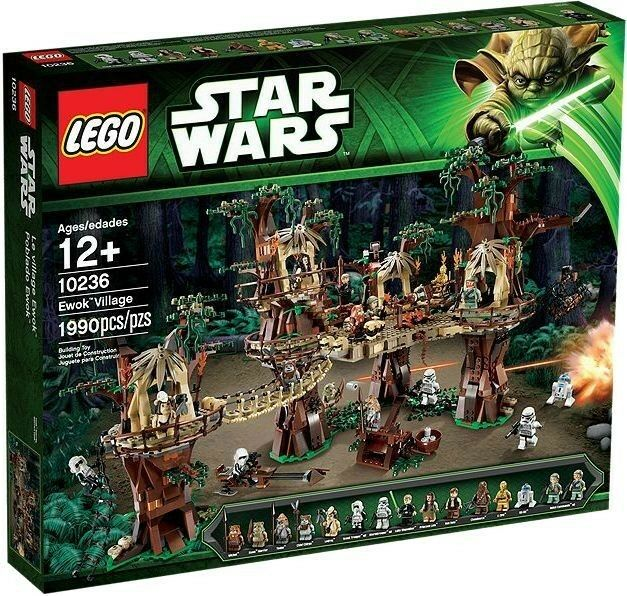 LEGO Star Wars: Ewok Village  10236  NEW MISB Factory Sealed