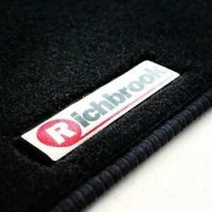 Original-Richbrook-Alfombra-alfombrillas-de-Para-Renault-Clio-Sport-98-04-Negro-Ribb-Trim