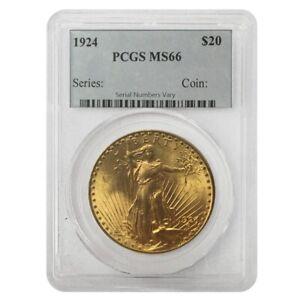 1924-20-Gold-Saint-Gaudens-Double-Eagle-Coin-PCGS-MS-66