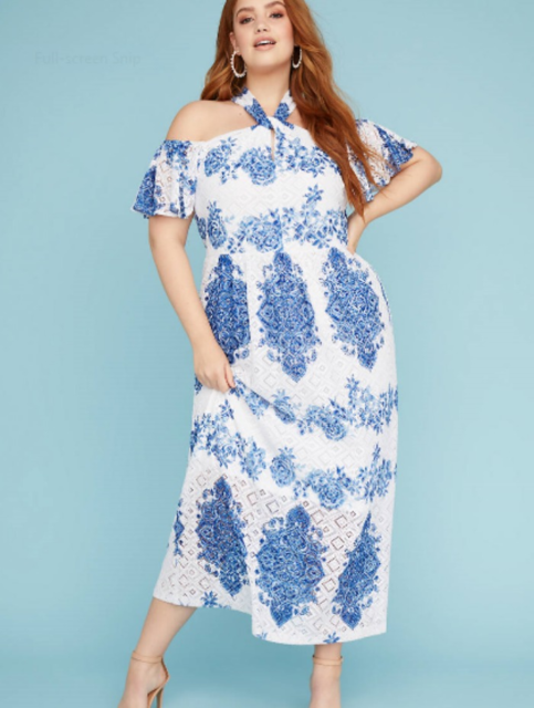 Lane Bryant Maxi Dress Plus Size 18/20 for sale online | eBay