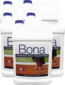 Bona 174 Hardwood Floor Cleaner Refill Gallon 128oz Pack Of