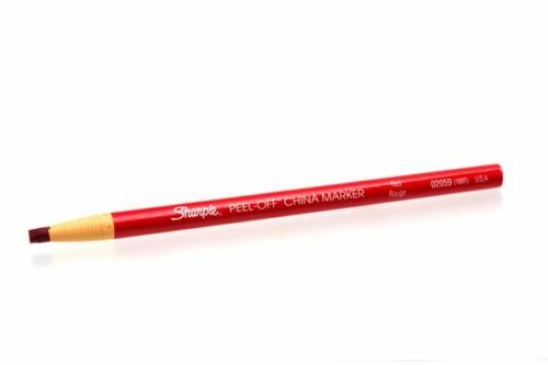Chinagraph China Markers Pencils Write On Plastic Glass Ceramic Glossy Surfaces