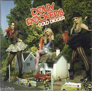 DOLLY-ROCKERS-GOLD-DIGGER-AUTOGRAPHED-ORIGINAL-MEMBERS-BROOKE-LUCIE-SOPHIE