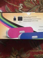 new nib Creative Labs D80 Bluetooth Speaker Blue, Brand New