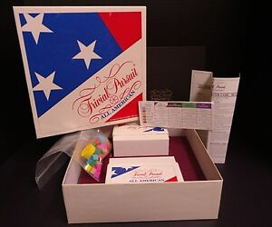 Trivial Pursuit All American 1993 Edition Vintage Complete Master Game Set