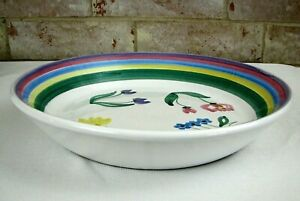 Caleca-Meadow-14-034-Pasta-Serving-Bowl-Handpainted-Made-in-Italy-Italian-Pottery