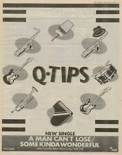 Q-Tips Paul Young '45 advert 1980