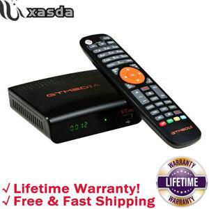 Gtmedia V7S 1080P HD receptor de satélite DVB-S/S2/S2X Soporte PowerVu + Usb Wi-fi