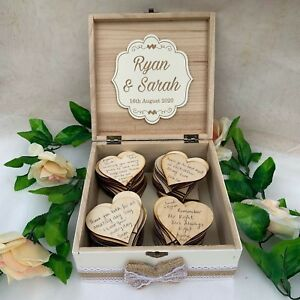 Wedding-Wish-Box-Wooden-Personalised-with-100-Large-Hearts-Guest-Book-White