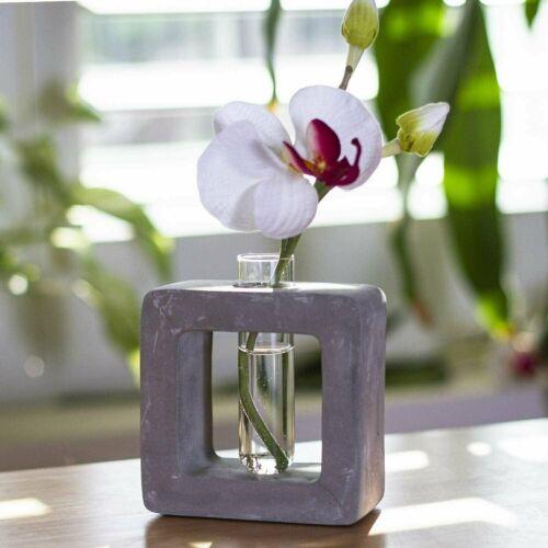 Frank Lloyd Wright Design Small square Flower Bud Vase Home Decorative
