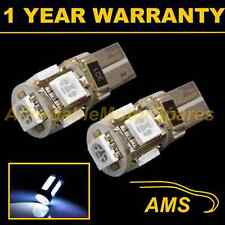 2X W5W T10 501 CANBUS ERROR FREE WHITE 5 LED NUMBER PLATE LIGHT BULBS NP101301