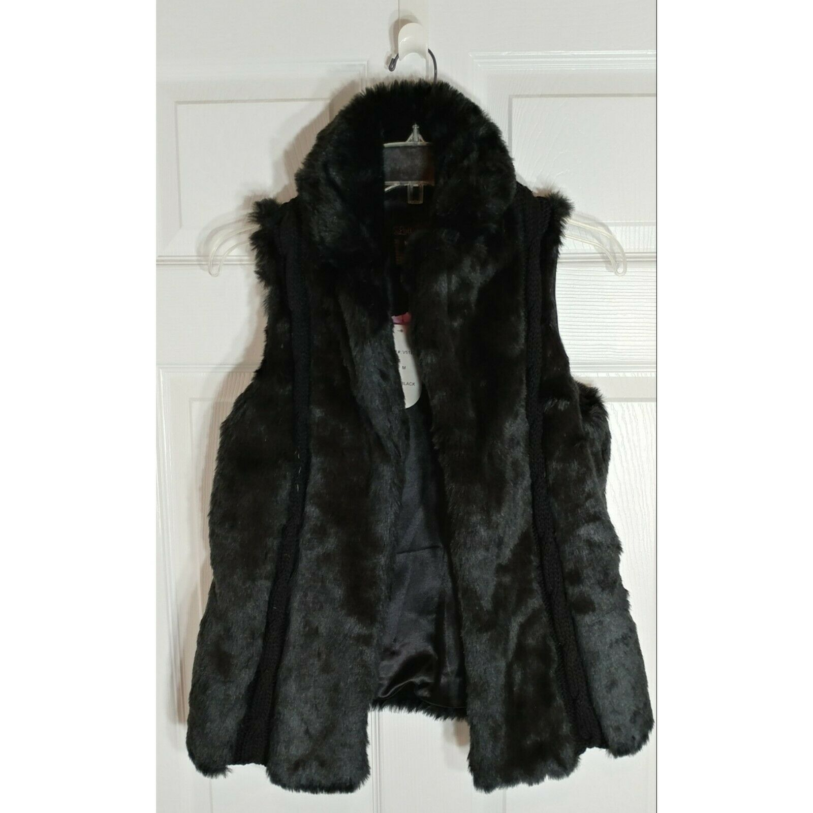 Luii Brand Faux Fur Vest New With Tags Tags Tags (NWT) 6c1462