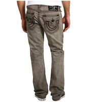 $356 NEW True Religion JeansMens Ricky Straight Super T Ashland Grey 29 x 34