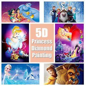5D-Princess-Design-Full-Drill-Diamond-Painting-DIY-Cross-Stitch-Embroidery-Kit